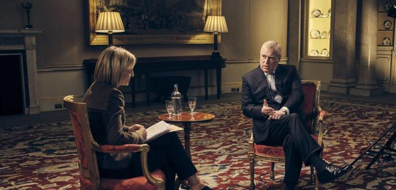 Princ Endru tokom intervjua za BBC u subotu