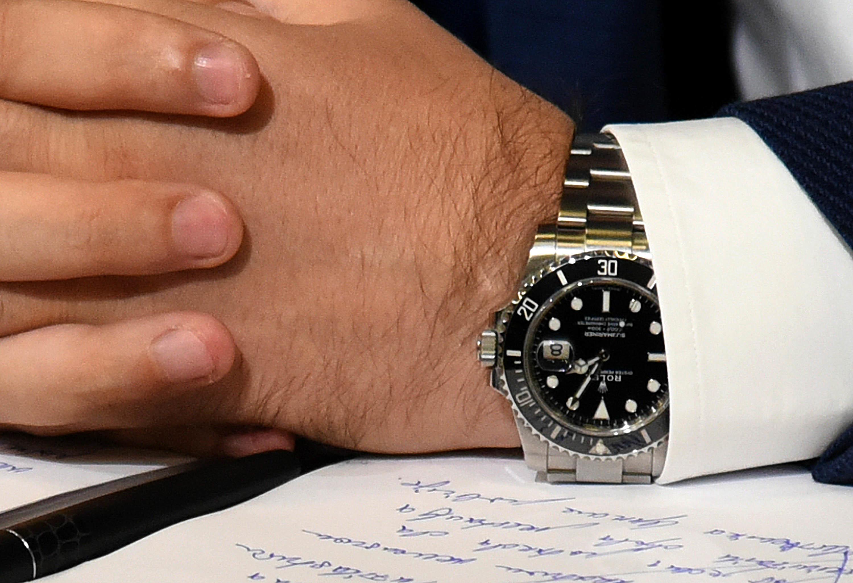 Kopija ili original: Rolex na ruci Bakovića na jednoj od konferencija za medije