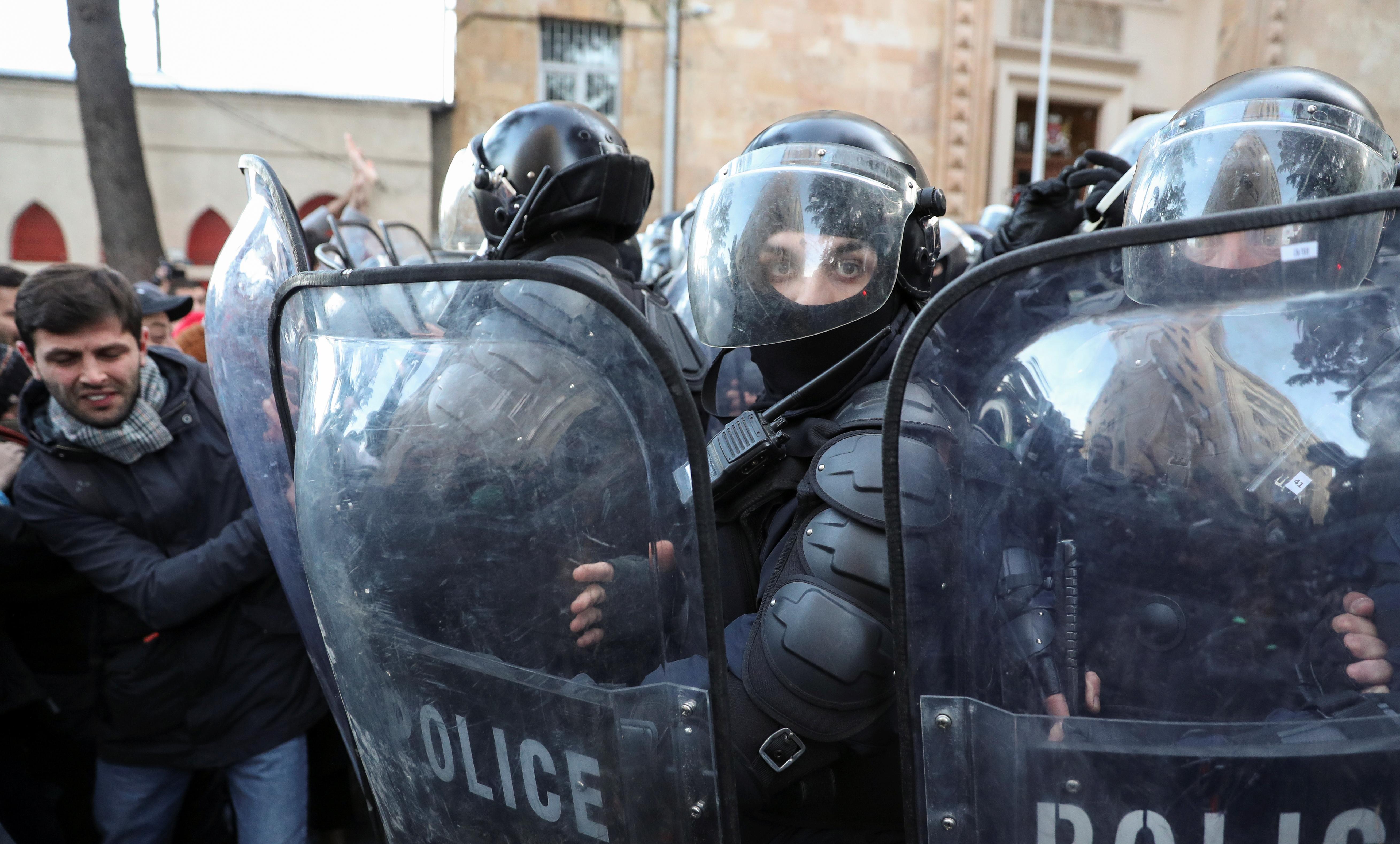 Danas u Tbilisiju (foto: IRAKLI GEDENIDZE/Reuters)