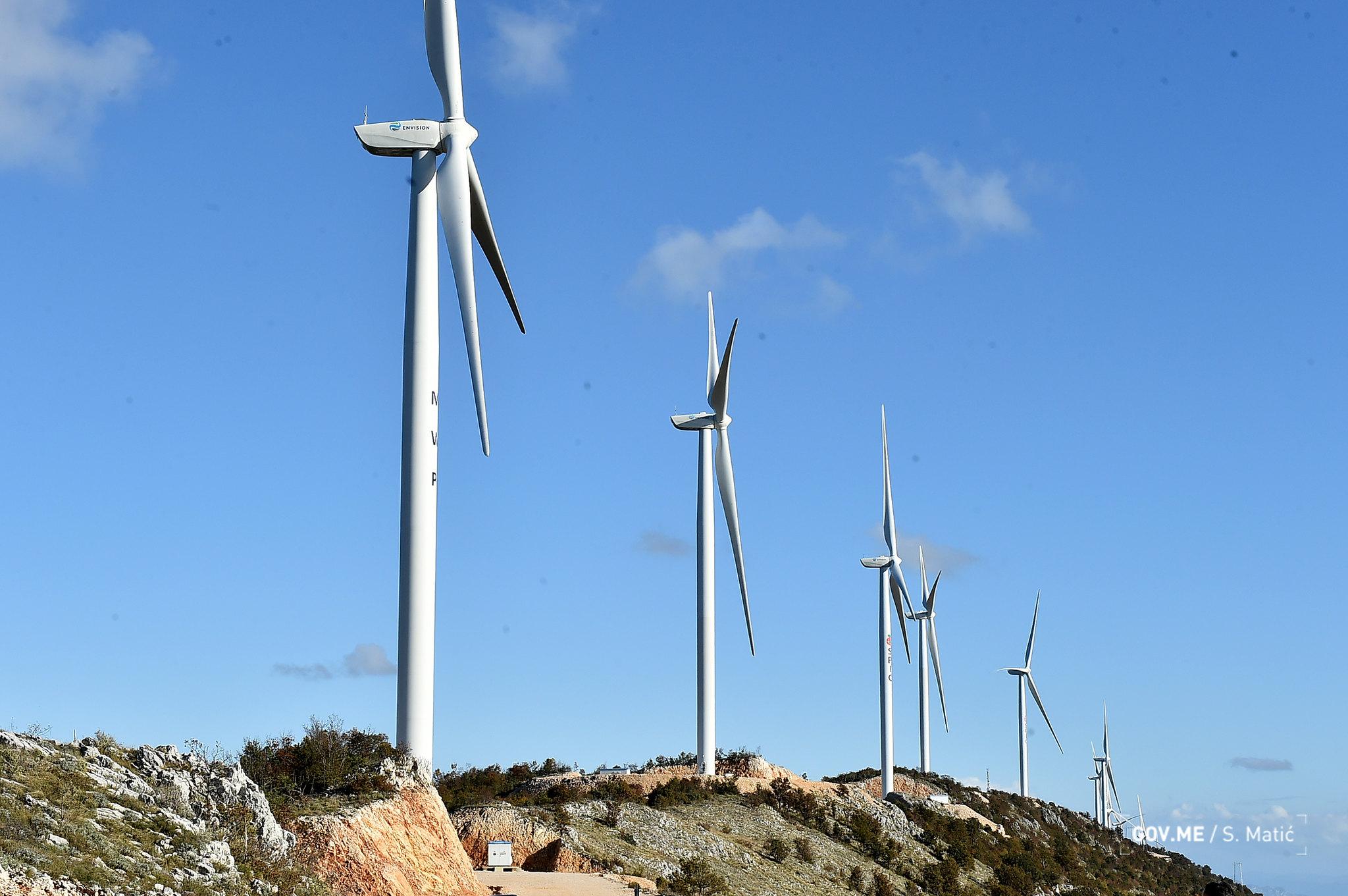 Vjetroelektrane Možura