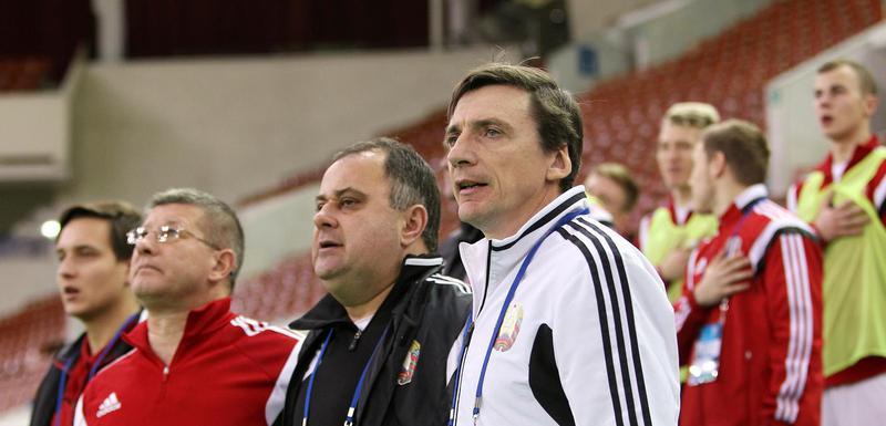 Mikael Markelj, selektor Bjelorusije