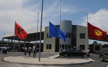 Granični prelaz Sukobin - Murićani nakon rekonstrukcije (ilustracija)