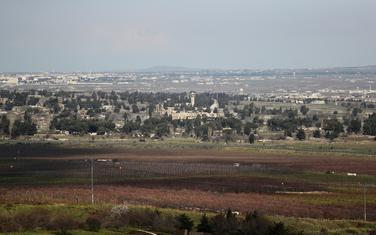 Sirene za raketnu uzbunu oglasile su se na Golanskoj visoravni