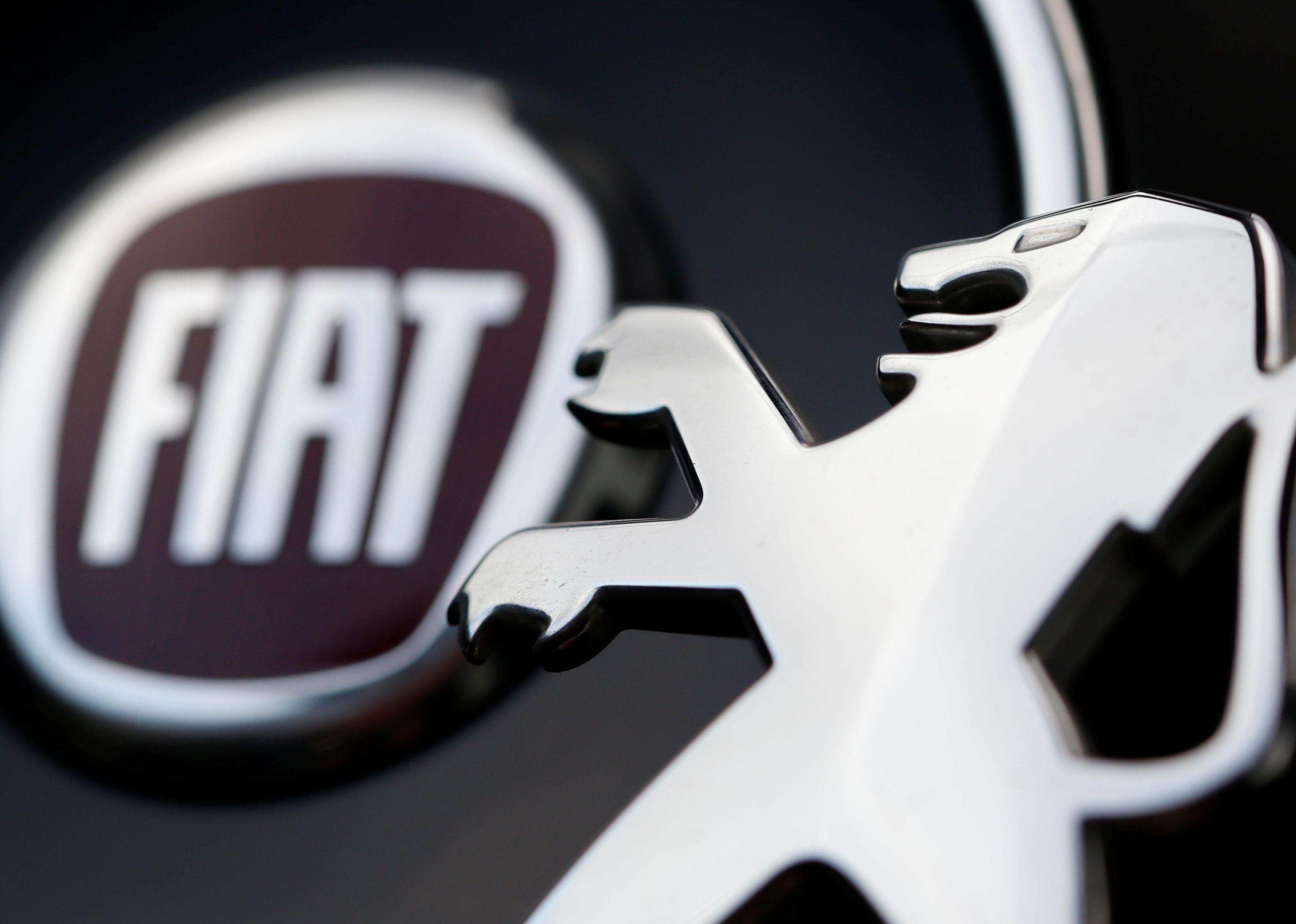 Fiat PSA logo
