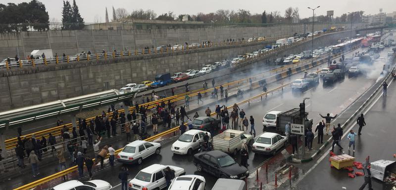 Sa protesta u Iranu