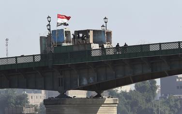 Detalj sa protesta u Iraku