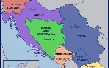 Bivša Jugoslavija (Ilustracija)