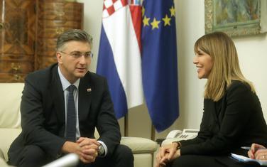 Sa sastanka Plenkovića i Bregu u Zagrebu