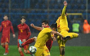 Sa meča Crna Gora - Rumunija