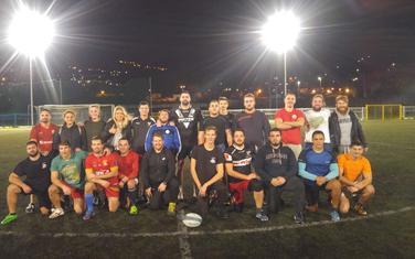 Sa treninga ragbista u Kotoru
