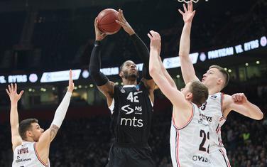 Sa meča Partizan - Ritas