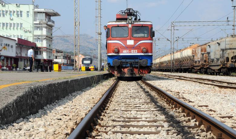 Detalj sa željezničke stanice u Podgorici (arhiva/ilustracija)