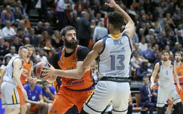 Bojan Dubljević na večerašnjoj utakmici sa Himkijem