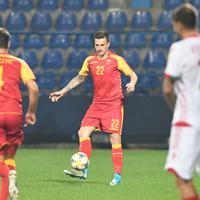 Nikola Vukčević i Marko Simić na prijateljskom meču protiv Bjelorusije