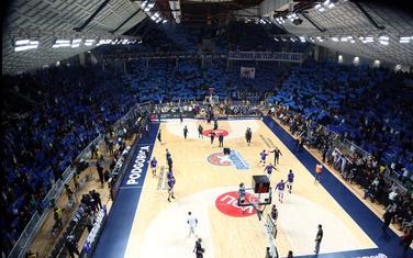 Atmosfera u Morači sa jedne od utakmica Evrolige prošle sezone