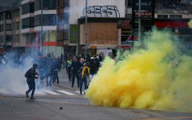 Sa protesta u Kolumbiji