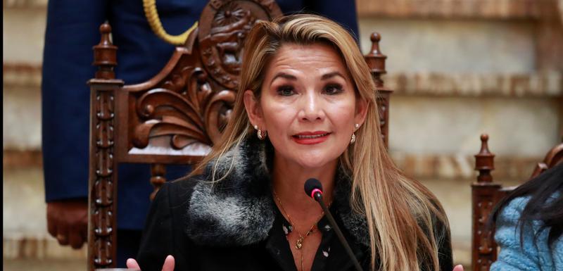 Privremena predsjednica Bolivije, Žanin Anjez