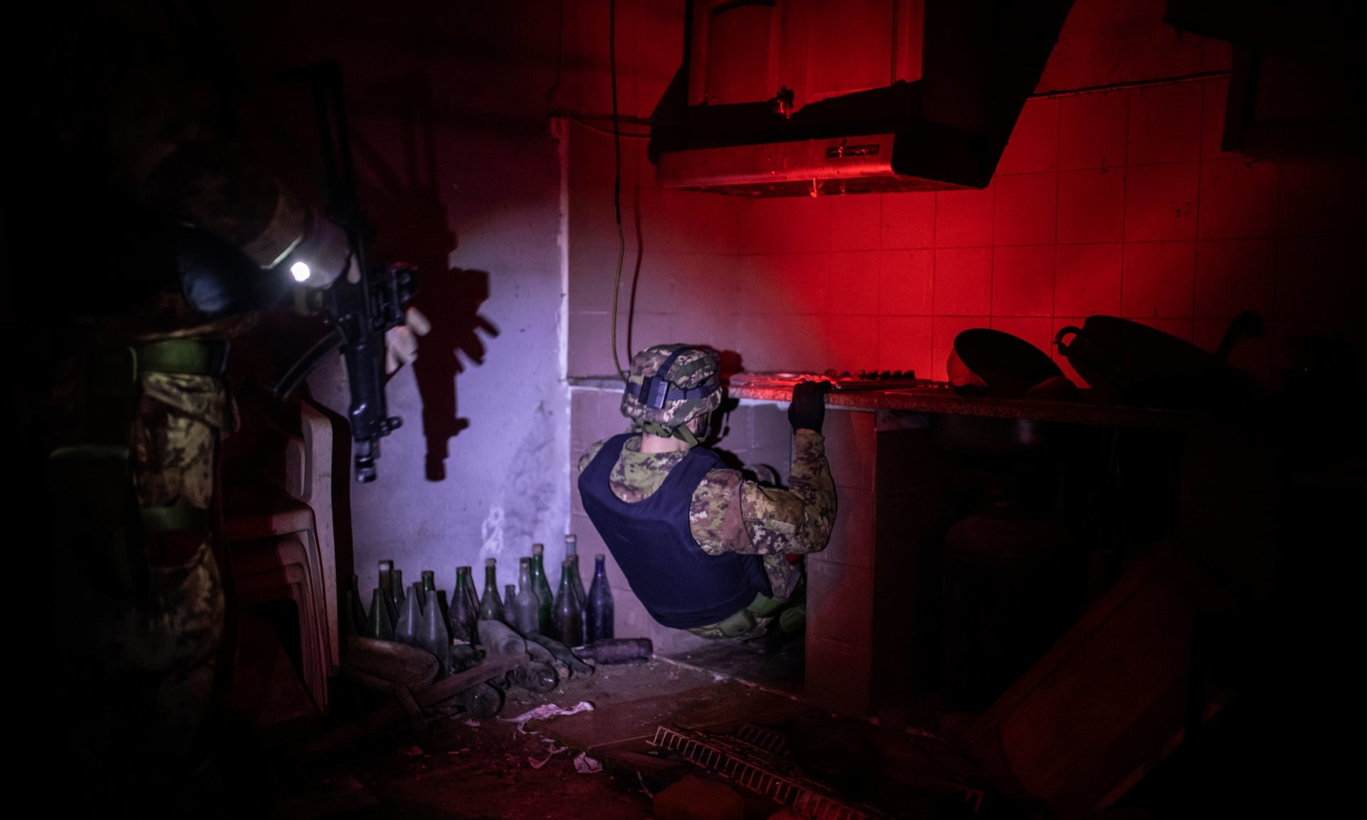 Kuhinja u skrovištu bjegunca koji je pobjegao 2004. a uhvaćen 2016.