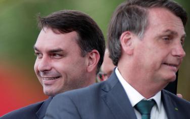 Flavijo i Žair Bolsonaro