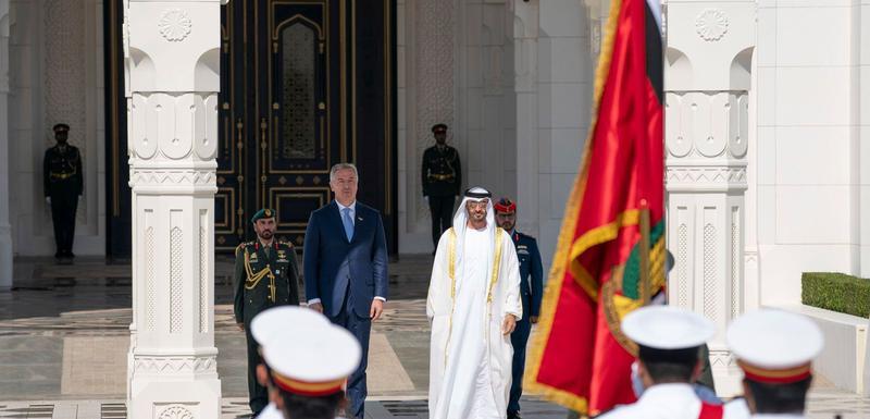 Đukanović u UAE