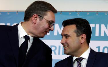 Vučić i Zaev