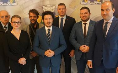 Predstavnici budvanske URE sa rukovodstvom partije