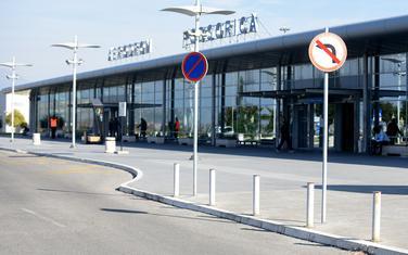 Zgarad aerodroma u Podgorici