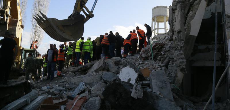 Nakon zemljotresa u Albaniji