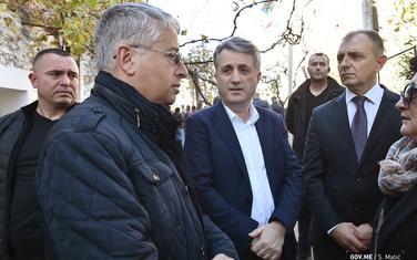 Nuhodžić i Hrapović sa Lješajem