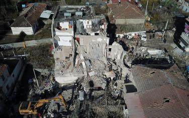 Tumane nakon zemljotresa