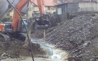 Regulacija vodotoka u Kolašinu