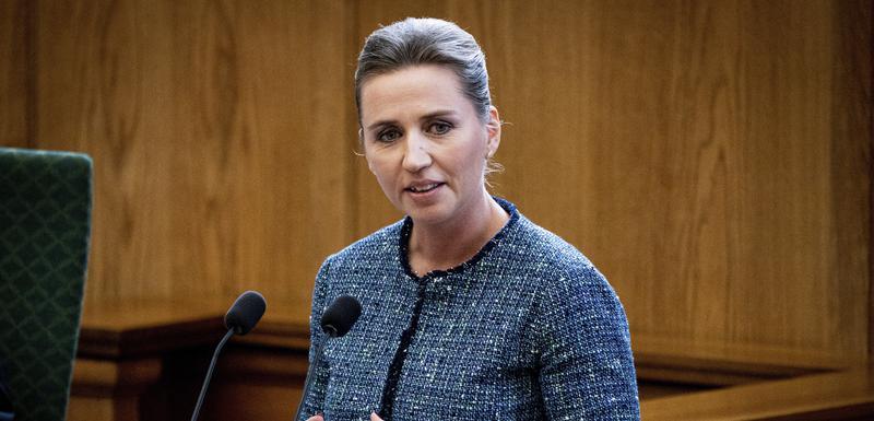 Danska premijerka, Mete Frederiksen