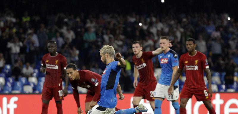 """Napoli je savladao """"redse"""" 17. septembra u Napulju"""