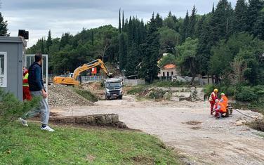 Gradilište u Miločerskom parku