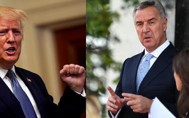 Tramp i Đukanović
