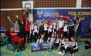 Galeb brani trofej u ženskoj konkurenciji