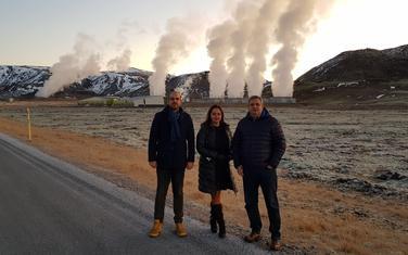 U posjeti Islandu: Marinović, Pejović, Radunović