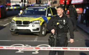 Britanska policija na mjestu događaja