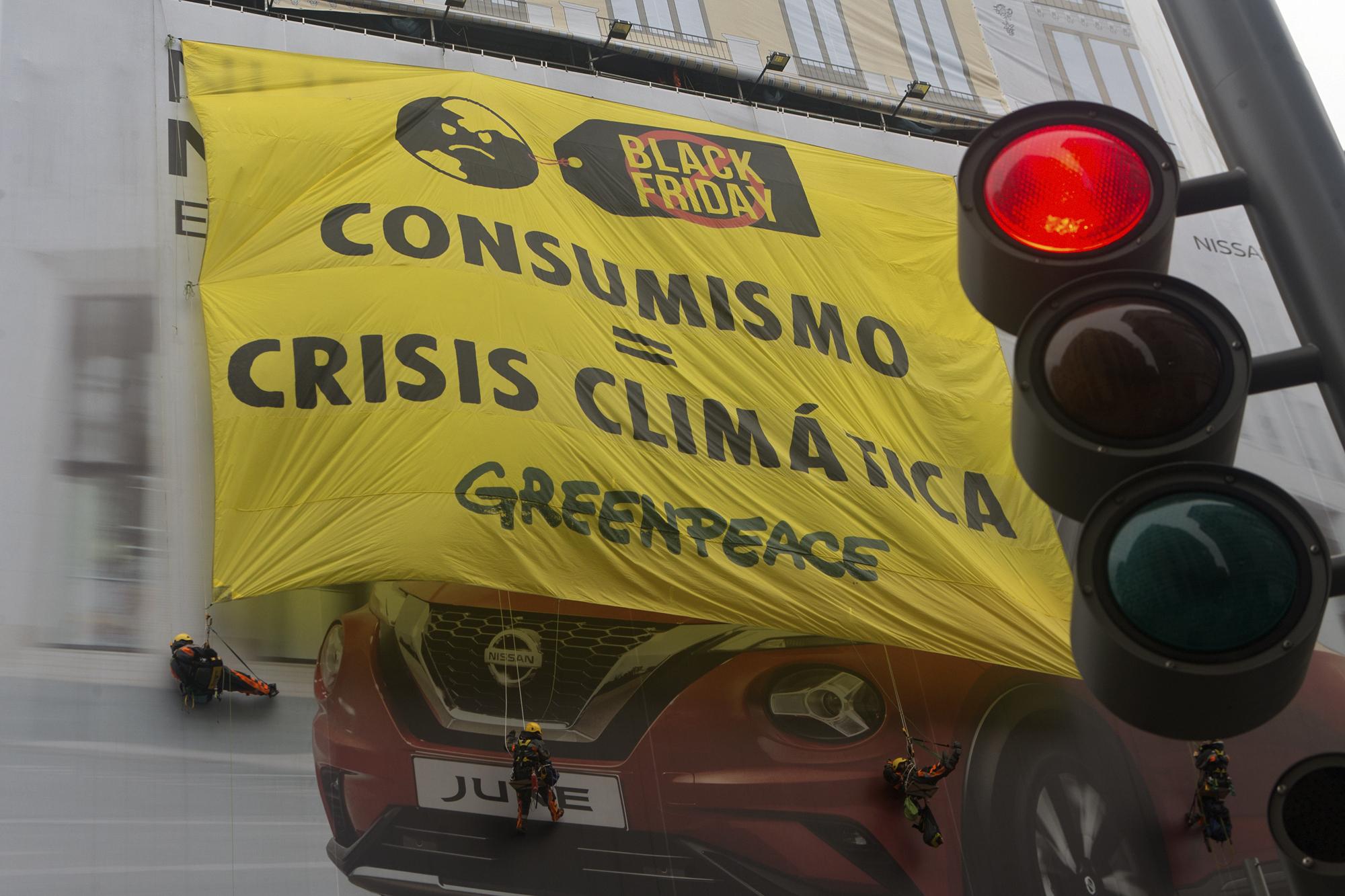 Madrid, protest protiv Crnog petka