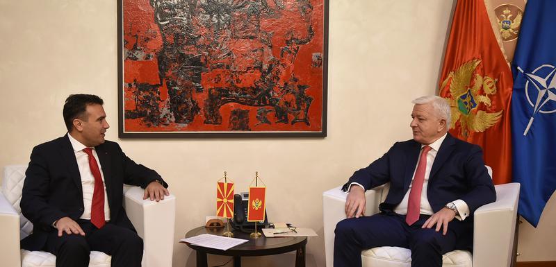 Zaev i Marković