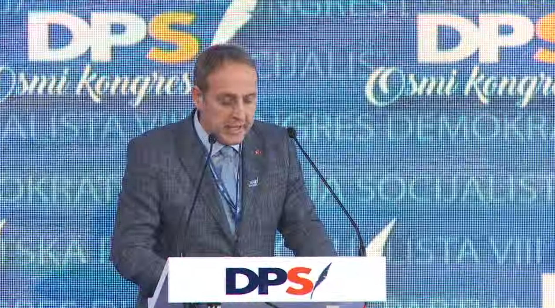 Andrija Popović, Kongres DPS