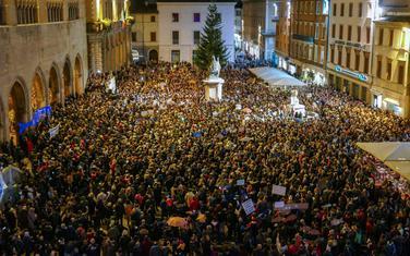 Sa jednog od protesta u Italiji