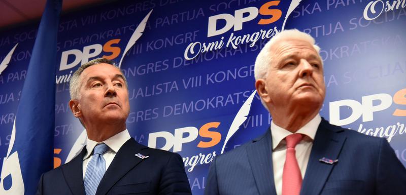 Đukanović i Marković juče nakon kongresa