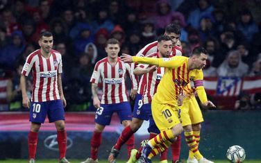 Mesi je riješio derbi u Madridu