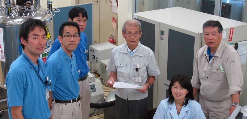 Profesor Akira Jošino (u sredini) dobio je 2019. godine Nobelovu nagradu za hemiju