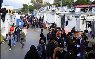 Izbjeglički kamp na Lezbosu