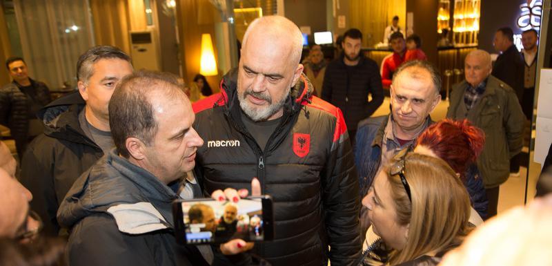 Nimanbegu i albanski premijer Edi Rama