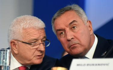 Marković i Đukanović na kongresu DPS-a