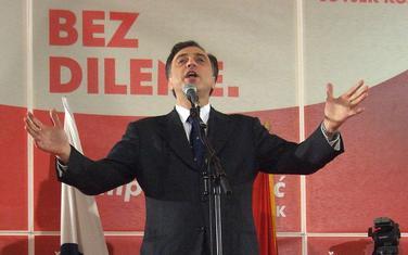 Vujanović na promociji uoči izbora 2008.
