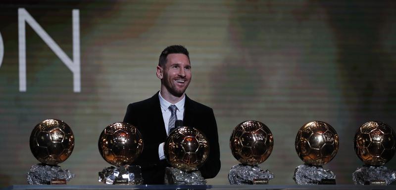 Mesi i šest Zlatnih lopti